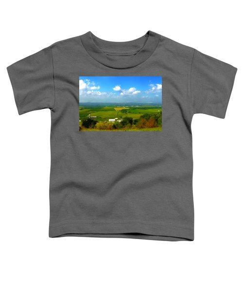Southern Illinois River Basin Farmland Toddler T-Shirt