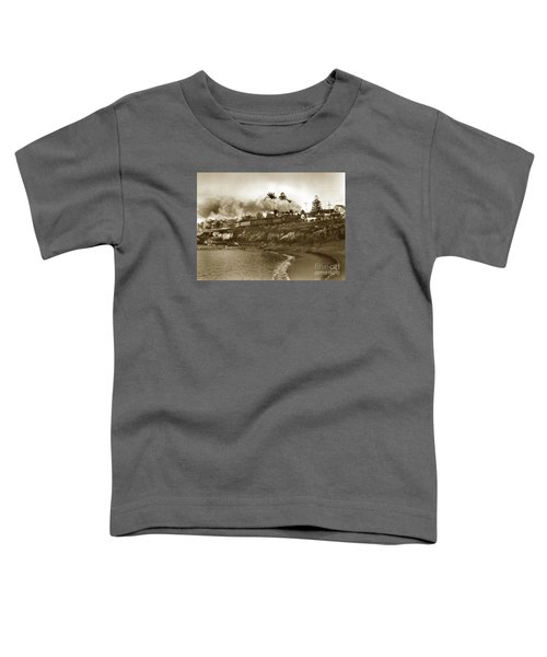 Southern Pacific Del Monte Passenger Train Pacific Grove Circa 1954 Toddler T-Shirt
