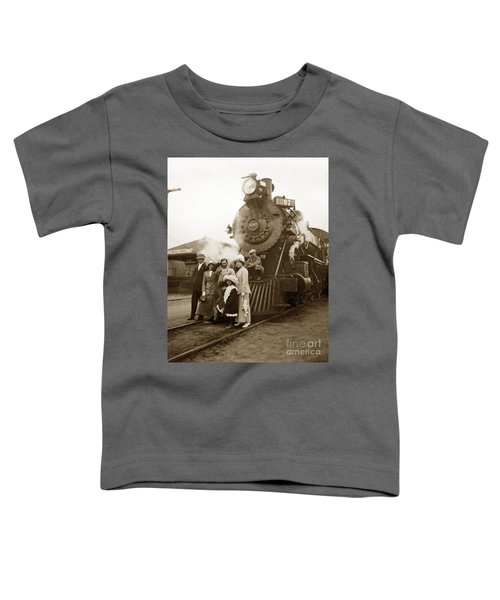 S P Baldwin Locomotive 2285  Class T-26 Ten Wheel Steam Locomotive At Pacific Grove California 1910 Toddler T-Shirt