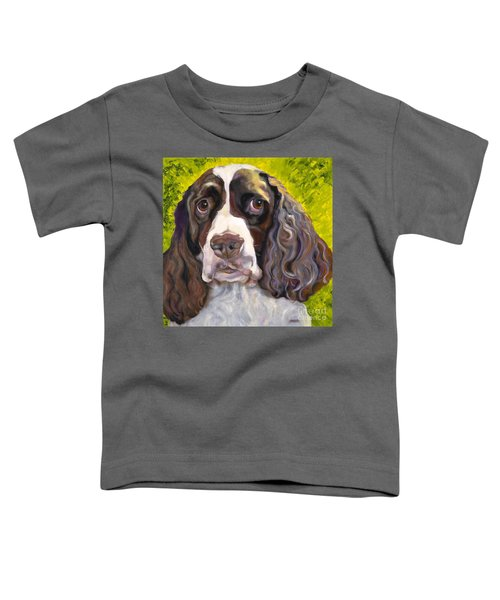 Spaniel The Eyes Have It Toddler T-Shirt