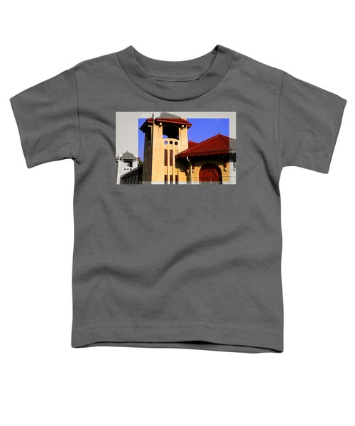 Spanish Architecture Tile Roof Tower Toddler T-Shirt