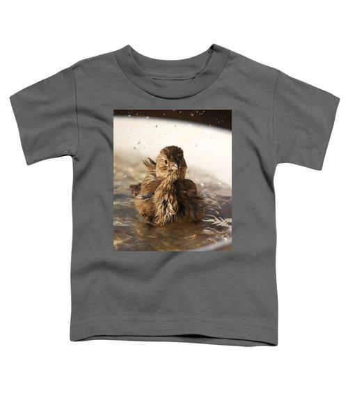 Sparrow Bathing Toddler T-Shirt