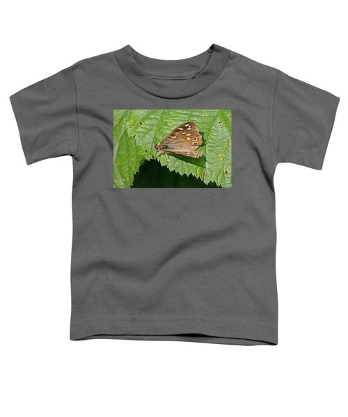 Speckled Wood Butterfly Toddler T-Shirt