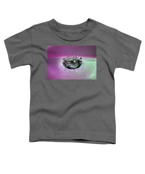 Splash Of Purple Toddler T-Shirt