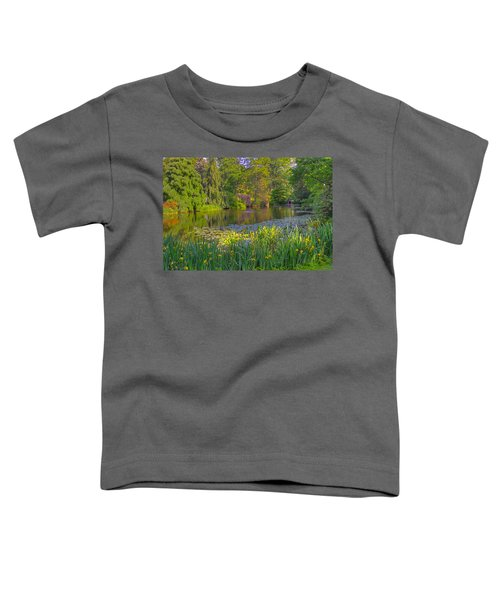 Spring Morning At Mount Auburn Cemetery Toddler T-Shirt