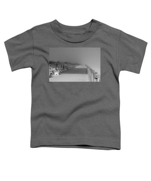 Spring Lake Boardwalk - Jersey Shore Toddler T-Shirt