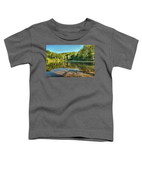 Spring Mill Lake Toddler T-Shirt