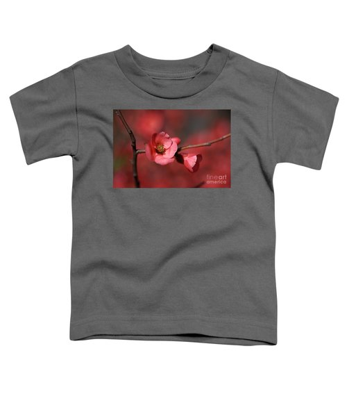 Spring Richness - Flowering Quince Toddler T-Shirt