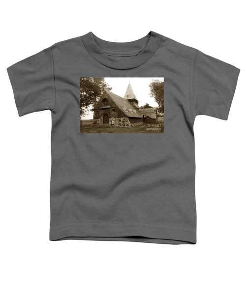 St. Johns Chapel Del Monte Monterey California 1895 Toddler T-Shirt