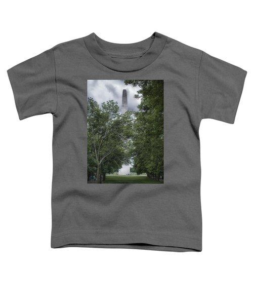 St Louis Arch Toddler T-Shirt by Lynn Geoffroy