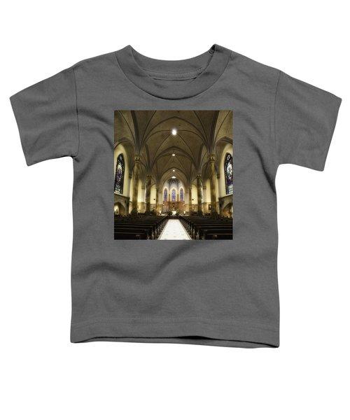 St Mary's Catholic Church Toddler T-Shirt by Lynn Geoffroy
