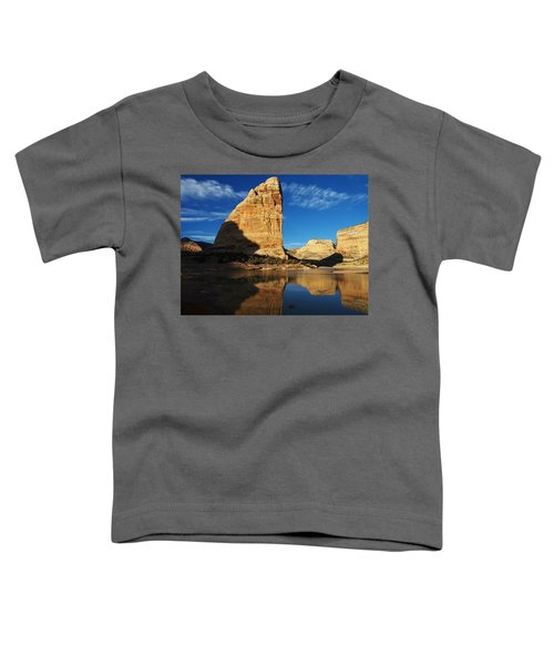 Steamboat Rock In Dinosaur National Monument Toddler T-Shirt