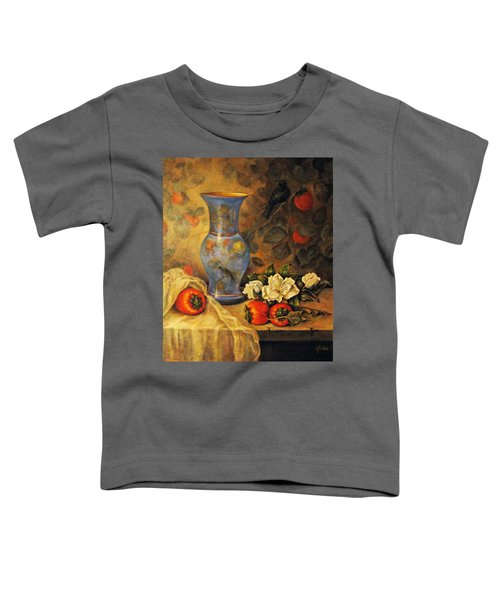 Still Life Of Persimmons  Toddler T-Shirt