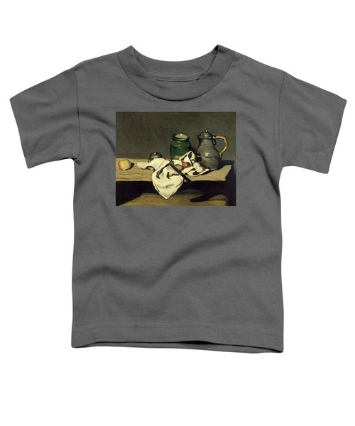 Still Life With A Kettle Toddler T-Shirt