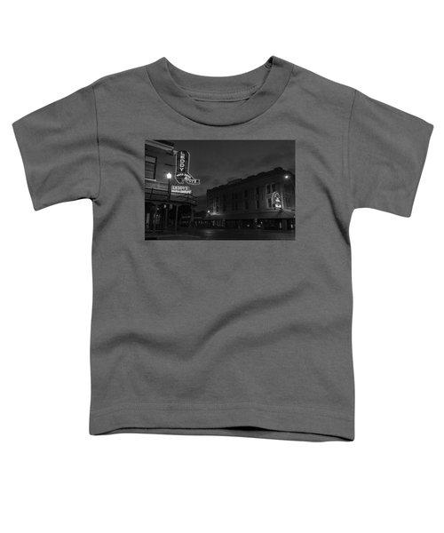 Stockyards Main And Exchange Bw Toddler T-Shirt