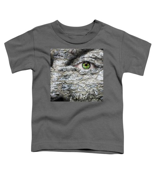 Stone Face Toddler T-Shirt by Semmick Photo