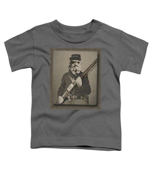 Storm Trooper Star Wars Antique Photo Toddler T-Shirt