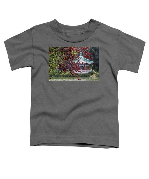 Stow Lake Pavilion Toddler T-Shirt