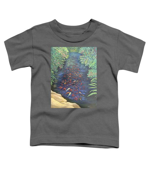 Stream Of Koi Toddler T-Shirt