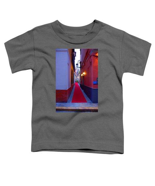 Streets Of Seville - Red Carpet  Toddler T-Shirt