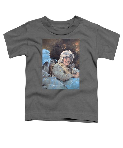 Study For Donald Campbell Oil On Canvas Toddler T-Shirt