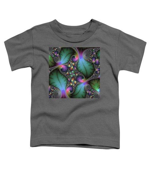 Stunning Mandelbrot Fractal Toddler T-Shirt