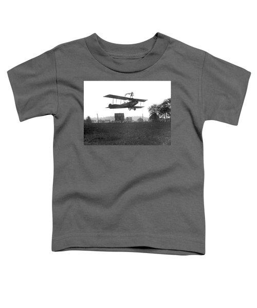Stunts Atop A Biplane Toddler T-Shirt