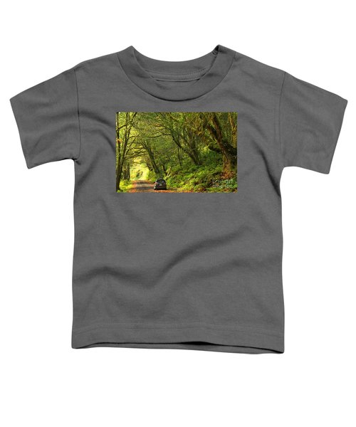 Subaru In The Rainforest Toddler T-Shirt