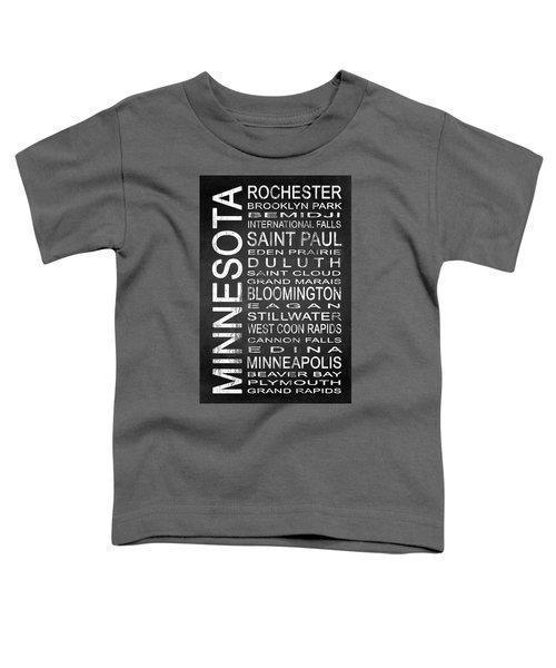 Subway Minnesota State 1 Toddler T-Shirt
