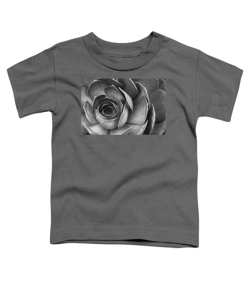 Succulent In Black And White Toddler T-Shirt