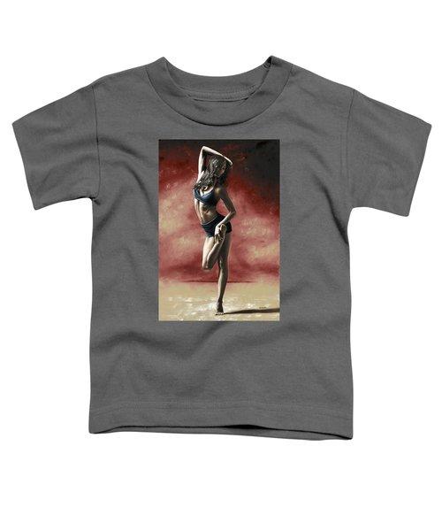 Sultry Dancer Toddler T-Shirt