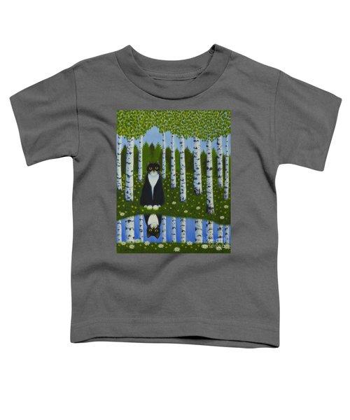 Summer Cat Toddler T-Shirt