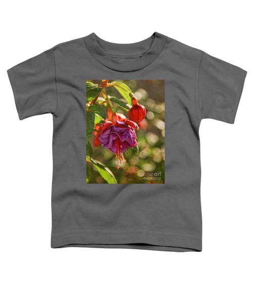Summer Jewels Toddler T-Shirt by Peggy Hughes