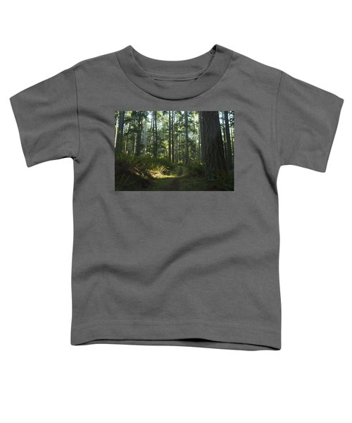 Summer Pacific Northwest Forest Toddler T-Shirt