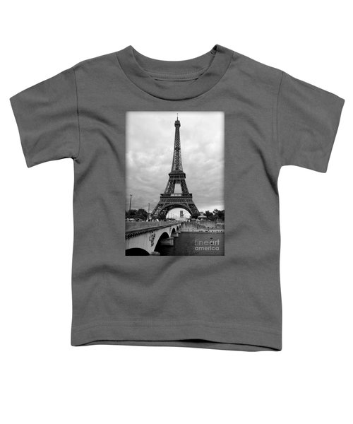 Summer Storm Over The Eiffel Tower Toddler T-Shirt