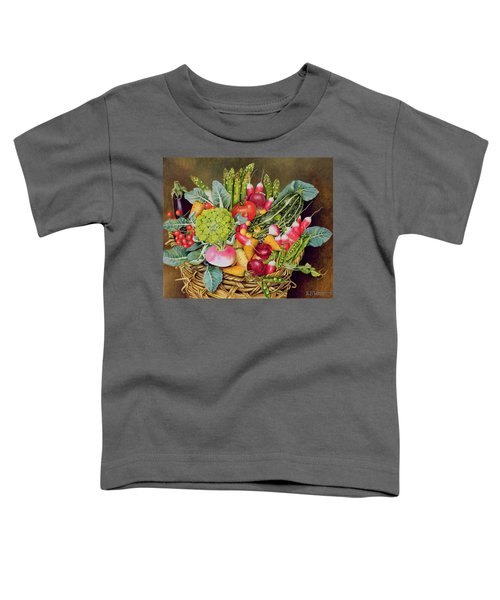 Summer Vegetables Toddler T-Shirt by EB Watts