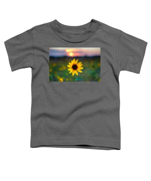 Sun Flower Iv Toddler T-Shirt