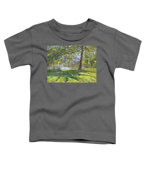 Sunday By The Pond In Port Credit Mississauga Toddler T-Shirt