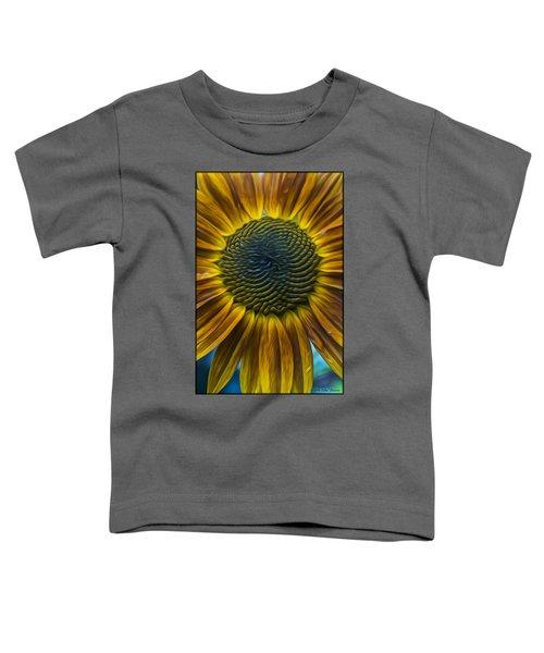 Sunflower In Rain Toddler T-Shirt