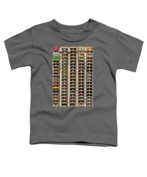 Sunglasses Toddler T-Shirt by Peter Tellone