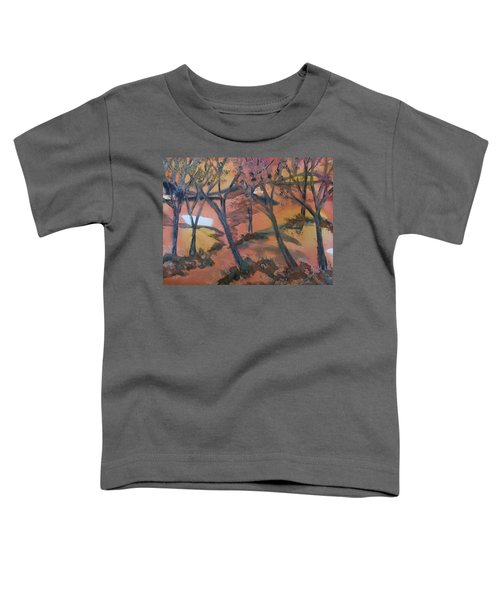 Sunlit Forest Toddler T-Shirt