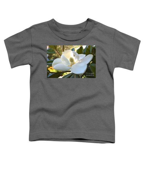 Sunlit Southern Magnolia Toddler T-Shirt