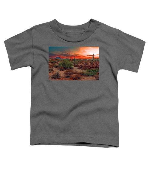 Sunrise Cocktail Toddler T-Shirt