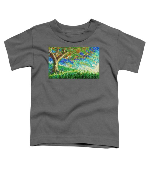 The War Of Wind And Sun Toddler T-Shirt