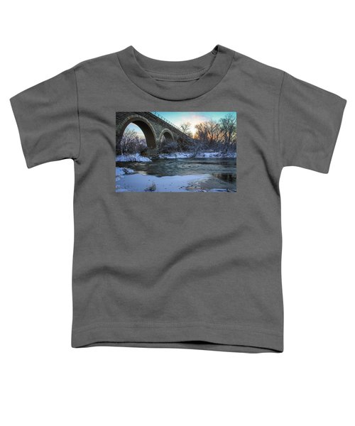 Sunrise Under The Bridge Toddler T-Shirt