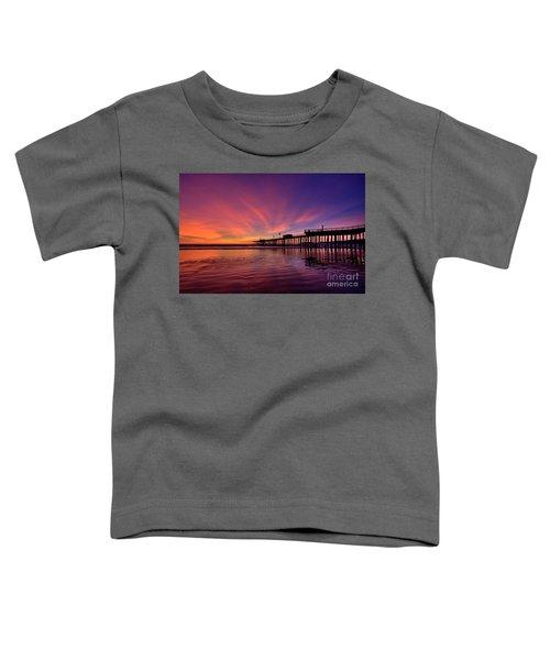 Sunset Afterglow Toddler T-Shirt