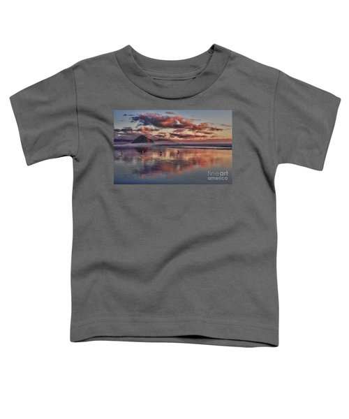 Sunset At Morro Strand Toddler T-Shirt