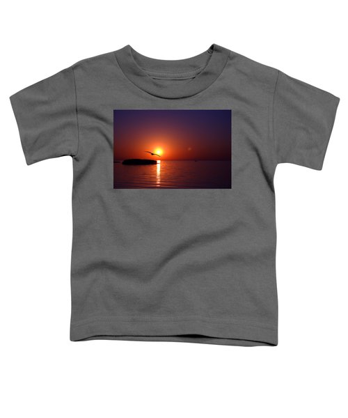 Sunset Blue Toddler T-Shirt