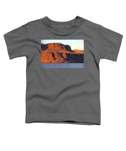 Sunset Cliffs At Horsethief  Toddler T-Shirt