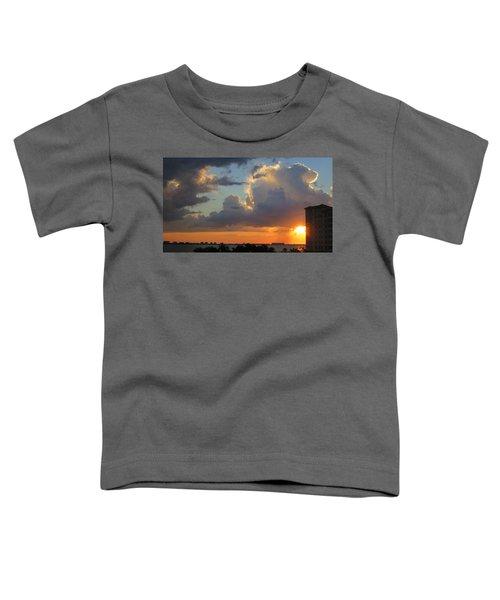 Sunset Shower Sarasota Toddler T-Shirt